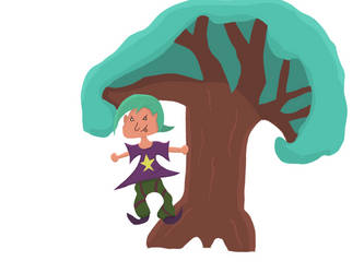 Witch on a Tree