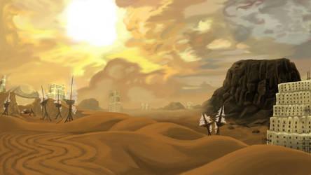 Crystal Desert by PandaTork