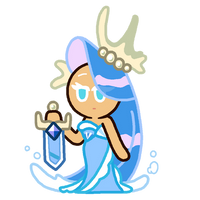 Sea Fairy Cookie by Hex-01
