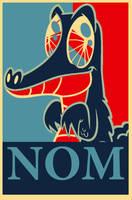Gummy Political Poster by xxpublic-enemy1xx