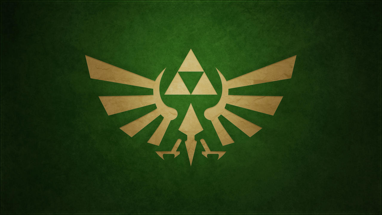 Minimalistic Green Triforce wallpaper by Createvi on ...