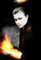 fire woman by rafaeljv