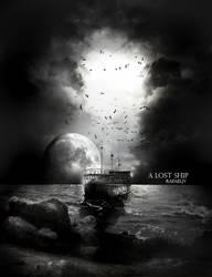 lost ship by rafaeljv