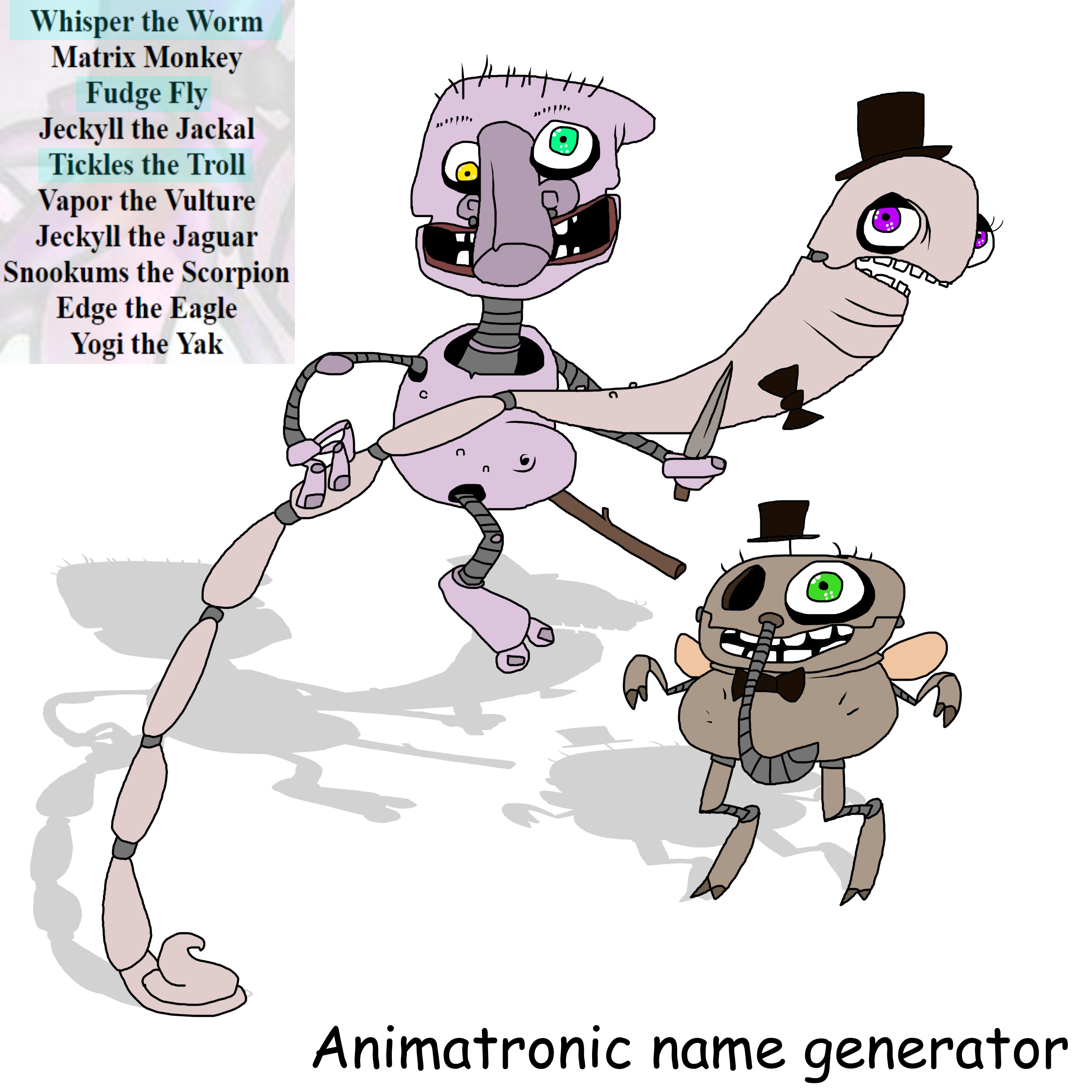 Name generator by kozabanana