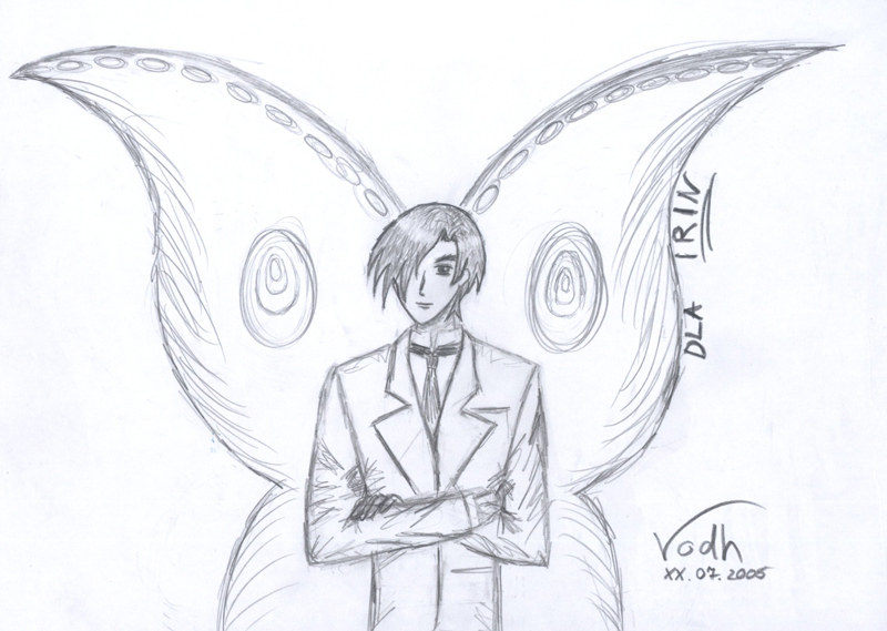 The Butterfly Man by Vodh
