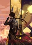 [FA] Genshin Impact - Zhongli by Dochikun