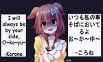 Inugami Korone(Yandere Mode?)