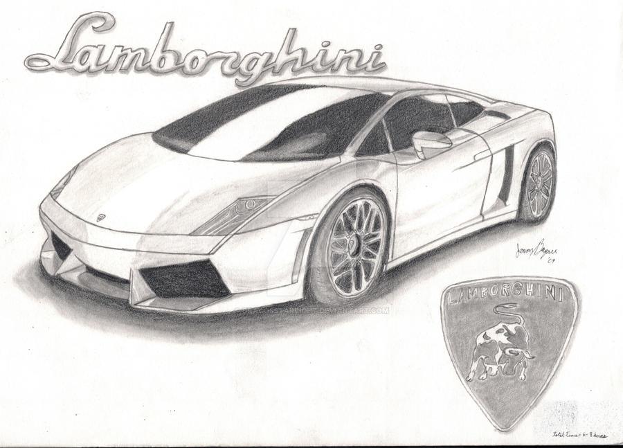 Lamborghini Sketch 2 by DracosStarlight on DeviantArt  |Lamborgini Cars Drawings Tattoo