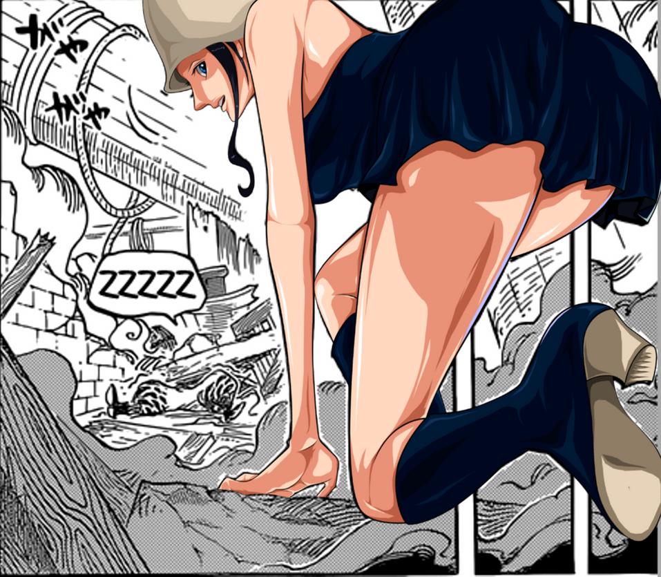 Nico Robin_One Piece 739 by MadBax