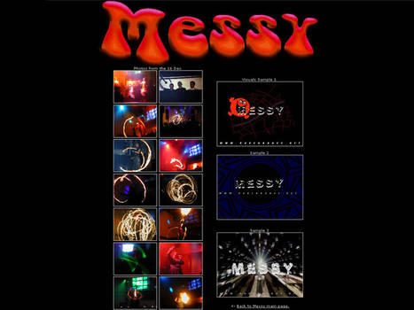 Website - Messy at Club Mono