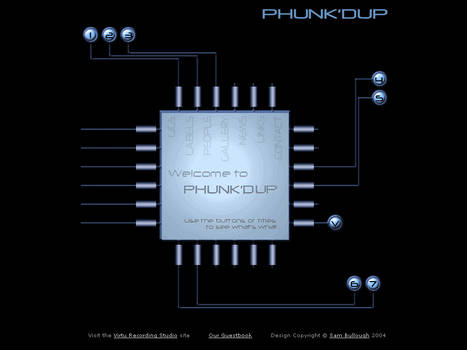 Website - Phunk'Dup