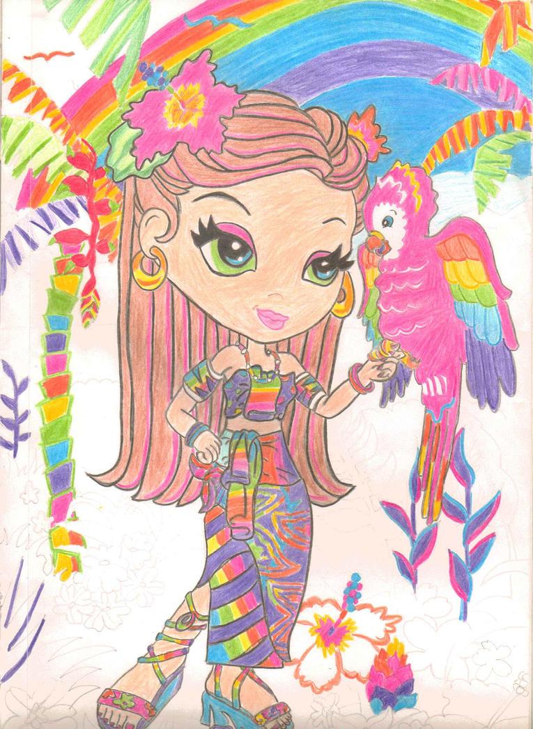 Lisa Frank Coloring Pages Printable Unicorn