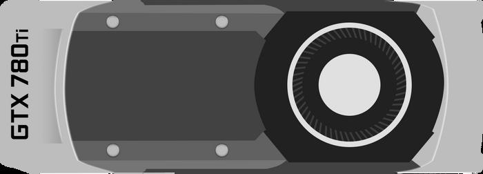 Minimalistic Nvidia GTX 780Ti