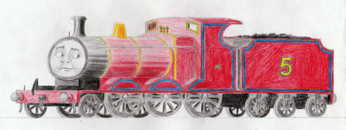 Early RWS Drawings: James by 01Salty