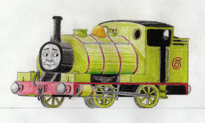 Early RWS Drawings: Percy by 01Salty