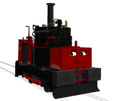 Natalie the Vertical-Boiler Engine by 01Salty