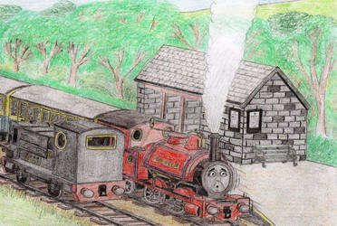 ERS V2 Illustration: 'Open Day Engines' #3