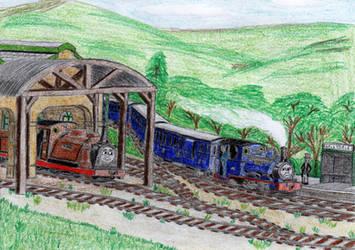 ERS V2 Illustration: 'Maintenance Engines' #2 by 01Salty