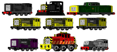 Early MS Paint Art: Diesels