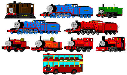 Early MS Paint Art: RWS Characters