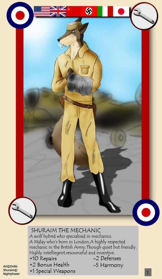 WW2 Trading Card 1-Shuraim by Dobb on DeviantArt