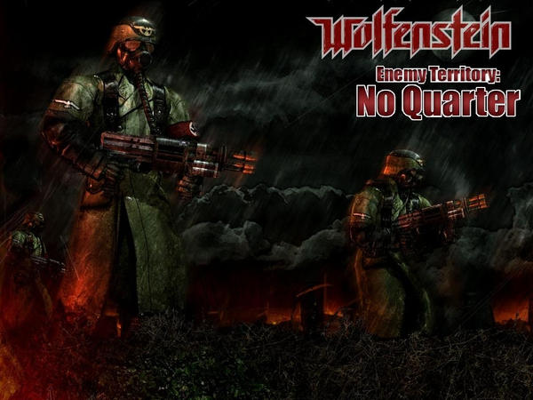 WET : No Quarter WALLPAPER by coverop