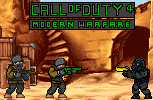 Call Of Duty 4 Pixel Character by coverop