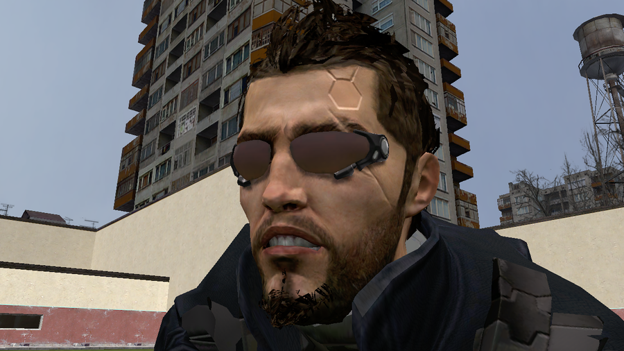 Adam Jensen Glasses Deus Ex:Human Revoluti...