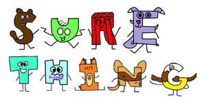 Alphabetons making words again yay