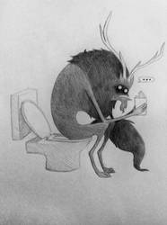 Toilet for Monsters