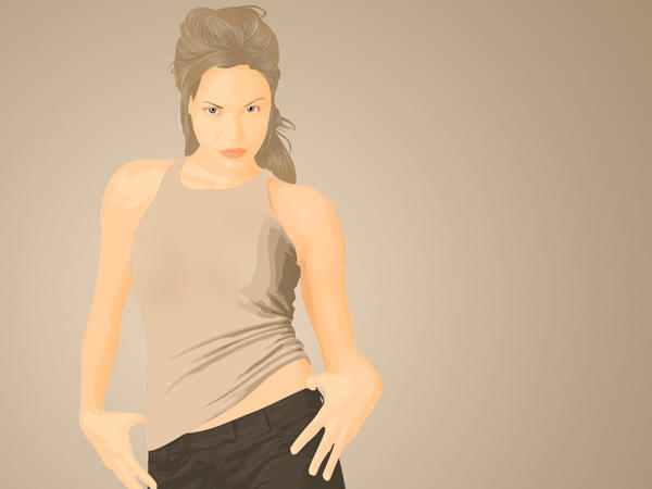 Angelina Jolie Vector by SuicideForAbheng