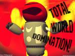 Beefsteak 'World Domination' by pitchblak