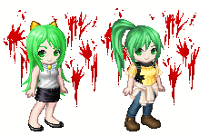 Feet RP: Sonozaki Twins (Higurashi)