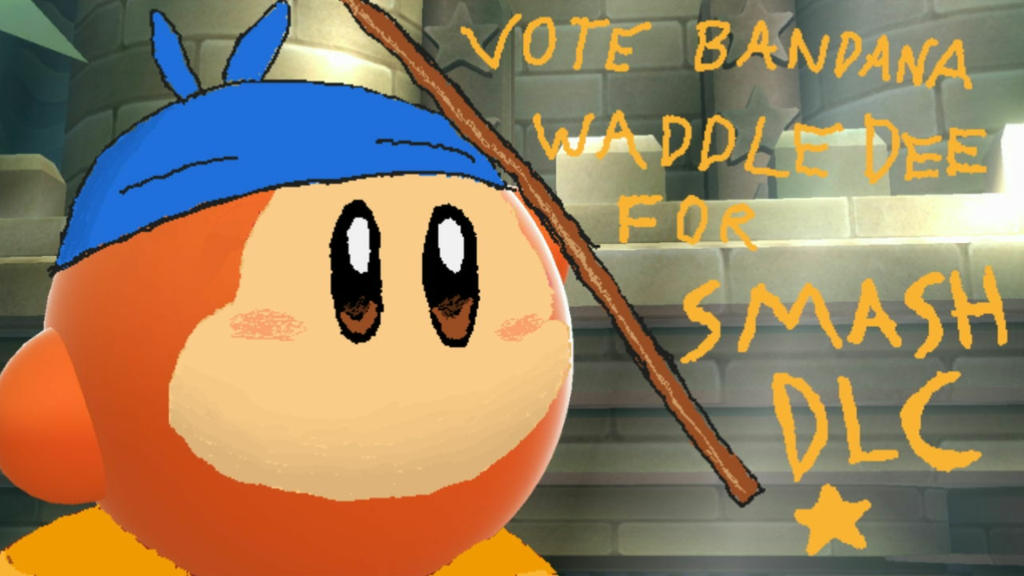 Bandana Dee DLC propaganda art