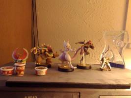 My humble shelf of stuff