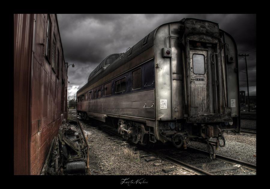 Train to Nowhere by TheVenomousSwan