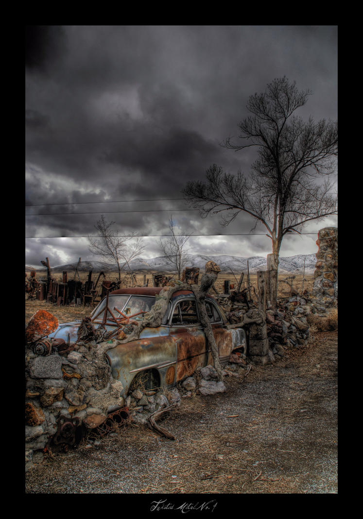 Twisted Metal No. 4 by TheVenomousSwan