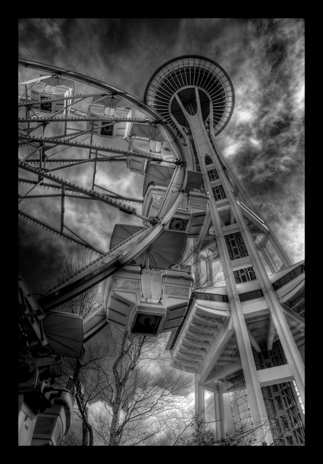 The Seattle Tourist Shot by TheVenomousSwan