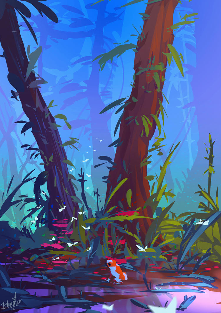 FrogHunt by FancyFoxy