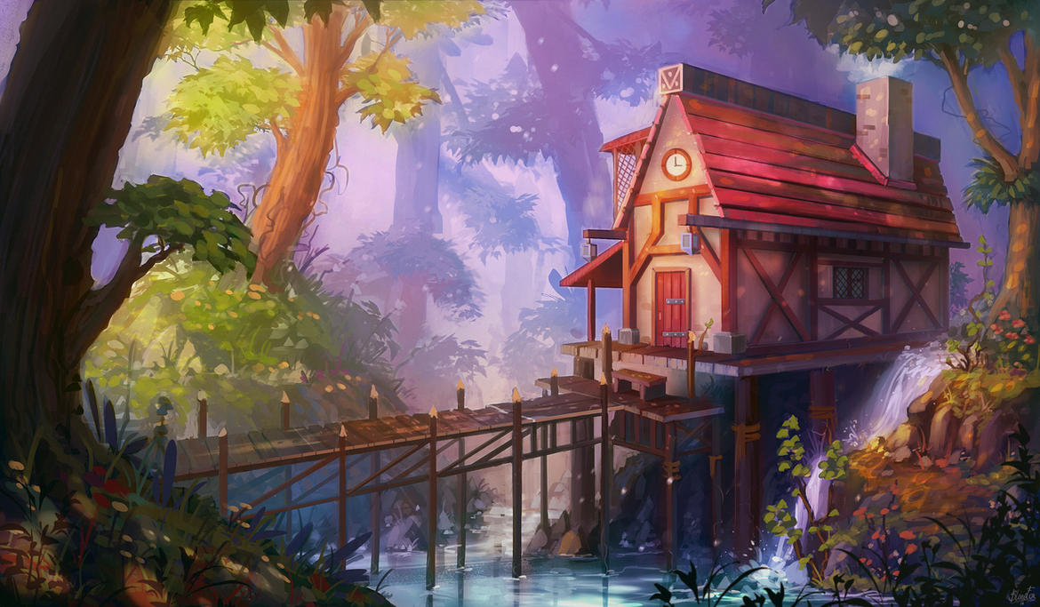 ForestHouse by FancyFoxy