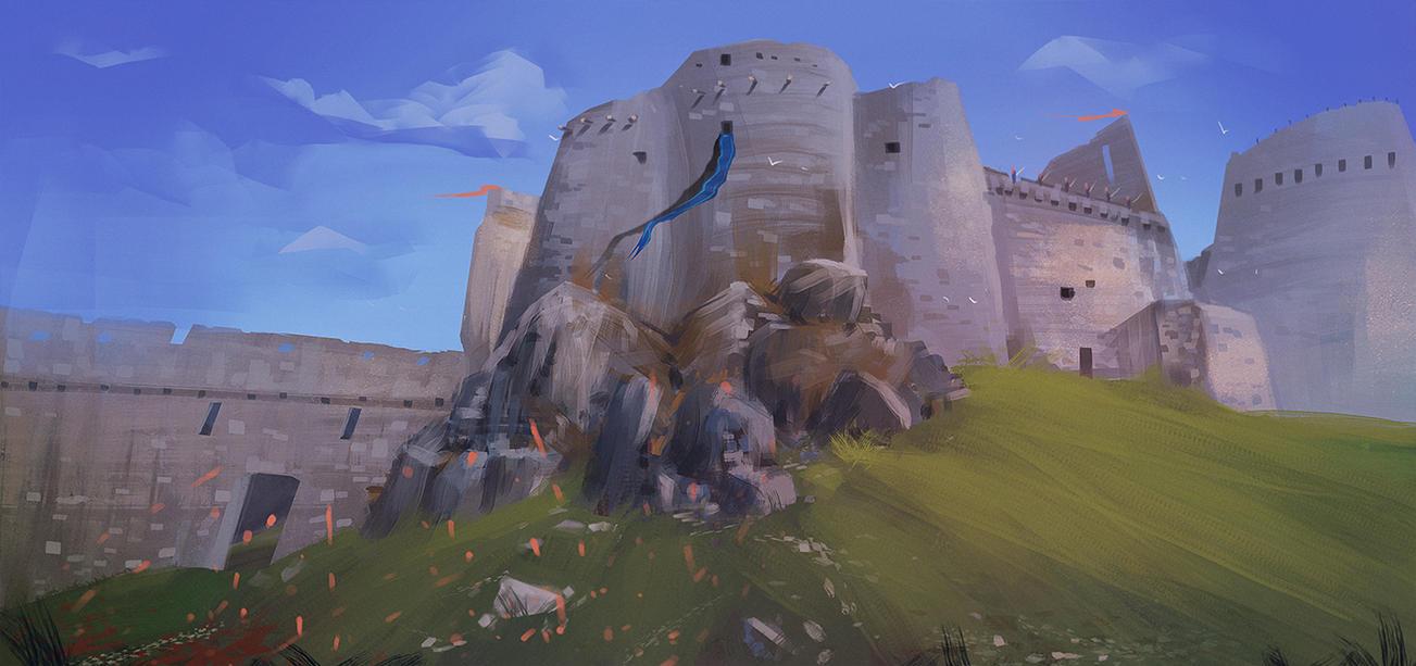 CastleStudy by BlindFoxy
