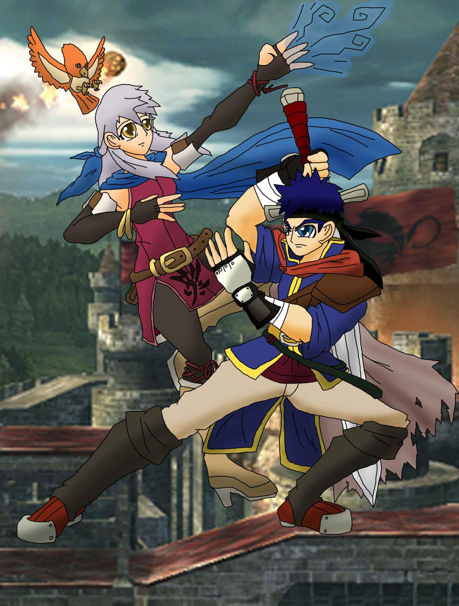 Fire Emblem Ike And Micaiahdon39t Know What That Is But It Looks
