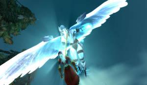 An angel over Tirisfal