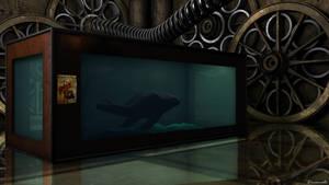 laboratoire steampunk by brunale03