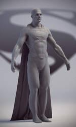 Man of Steel Work in Progress