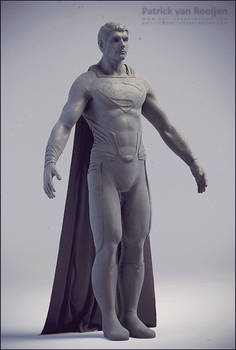 Man of Steel Sculpt update