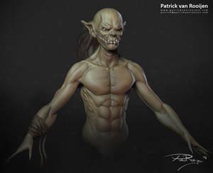 Goblin Zbrush sketch