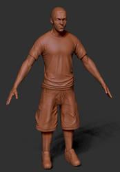 Eminem Zbrush sculpt