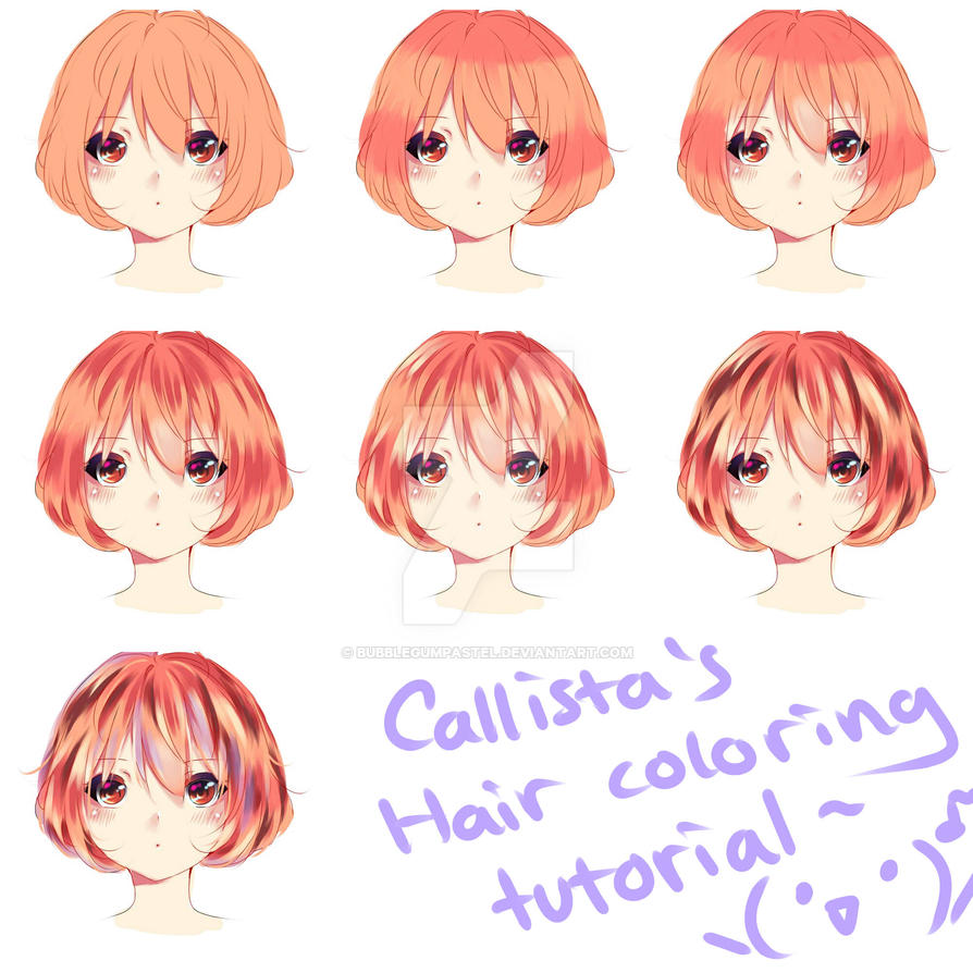 hair coloring tutorial :D by bubblegumpastel on DeviantArt