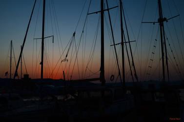 Harbour Sundown by mFlavia